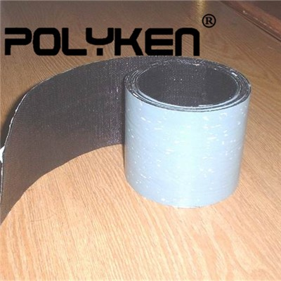 Cold Applied Waterproof Black Woven Polypropylene Pipe Wrap Tape