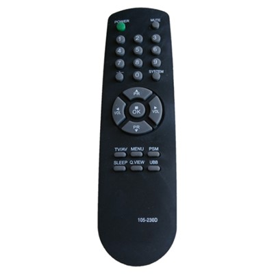 Infrared Remote Control TV Universal Remote Controller 105-230D