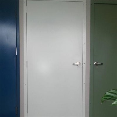 Steel Door With Insert Rubber Seal