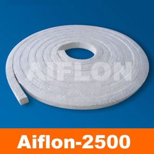 ArcylicPan Fiber Packing With Silicone Rubber Core AIFLON 2500SC