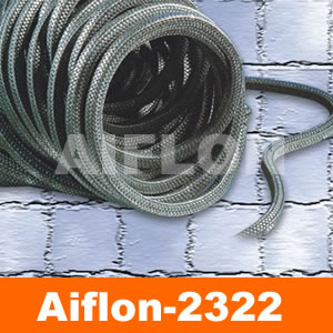 Sintered Graphite PTFE Packing AIFLON 2322