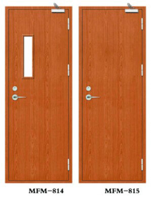 Non-paint Wooden Fire Door