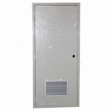 Steel Door With Air Vent