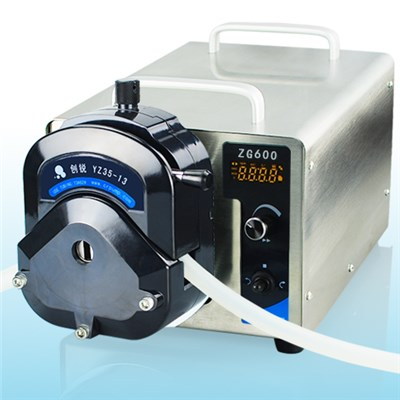 DC Motor High Flow Industrial Peristaltic Pumps ZG600 740-12000 Ml/min