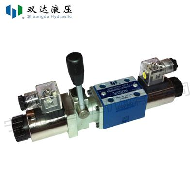 Solenoid Operated Directional Valve With Assistant Handle