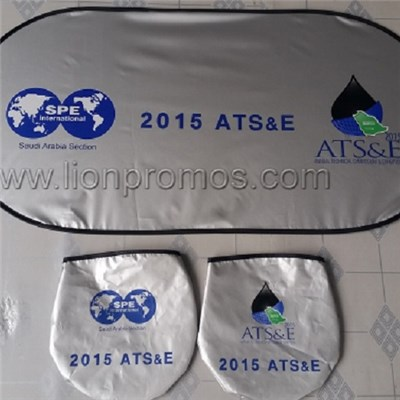 Silver Coated Sun Visor