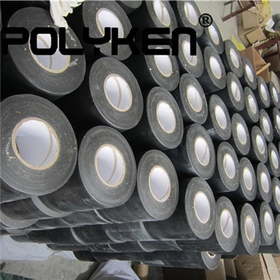 Cold Applied Polyken Black Pipe Repair Tape Using For Oil Pipeline