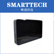 Black ABS Tv Back Enclosure Plastic Injection Mould
