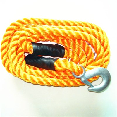 Tow Rope With Forged Steel Hooks