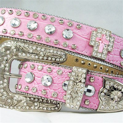 Rhinestone Belt For Lady
