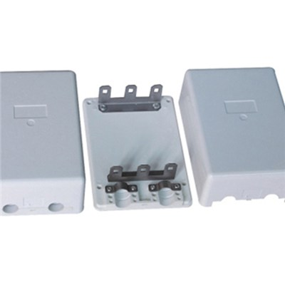 30 Pair Indoor Distribution Box Install 3 Pair Back Mount Frame