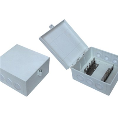 50 Pair Indoor Distribution Box Install 5Pair Back Mount Frame