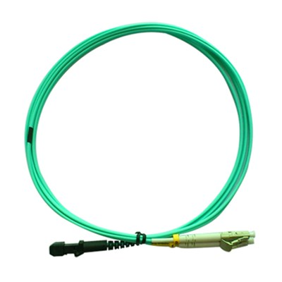 Multimode Duplex MTRJ/PC-LC/PC Fiber Optic Patch Cord OM3 2mm