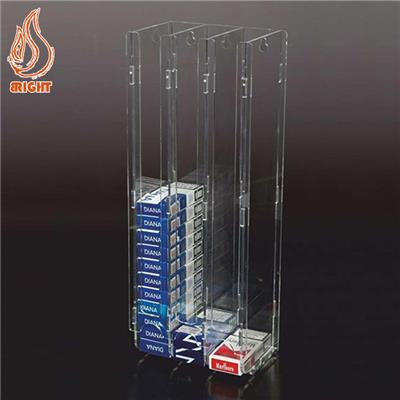 Clear Cigarette Display