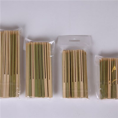 Bamboo Double Prong Skewer