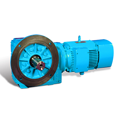 S Helical Worm Geared Motor