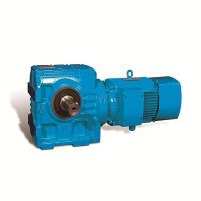 Foot Mounted Helical Geared Motor