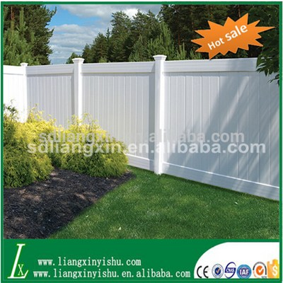 Hot Sale PVC Full Privacy Fence