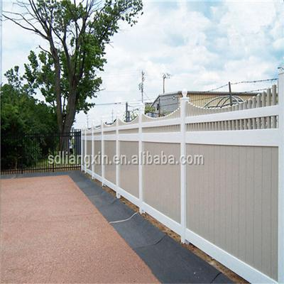 Pvc Semi Privacy Fence PVC