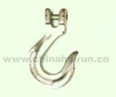 CLEVIS SLING HOOK Forged Alloy Steel Yellow Chromated