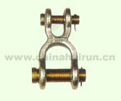 DOUBLE CLEVIS LINK Self Colored Or Zinc Plated