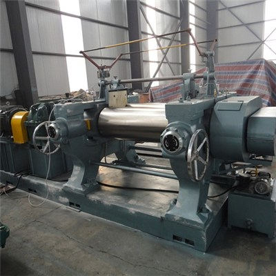 Single Drive Rubber Open Mixing Mill