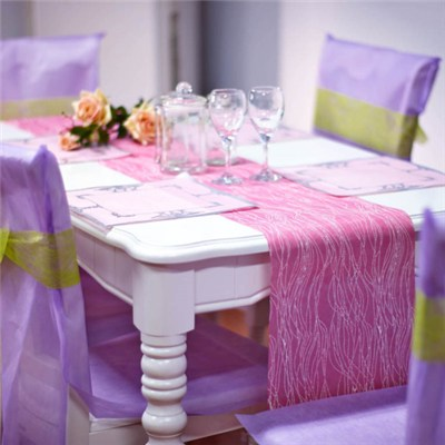Nonwoven Table Runner And Decorations