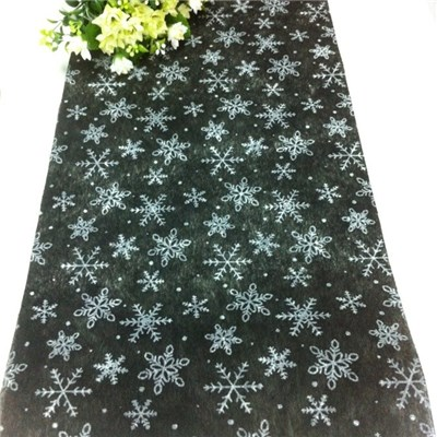 Glittered Snowflake Table Runners