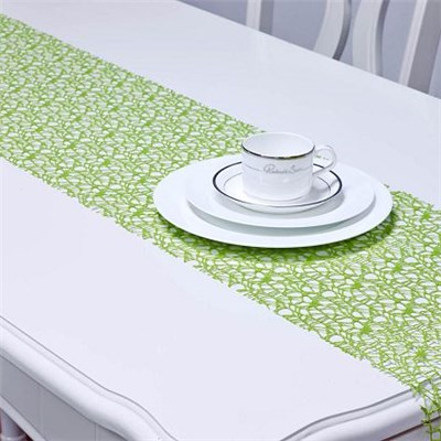 Green Mesh Table Runner