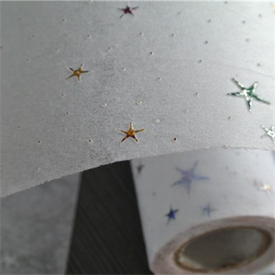 Star Hot Foil Nonwoven Rolls