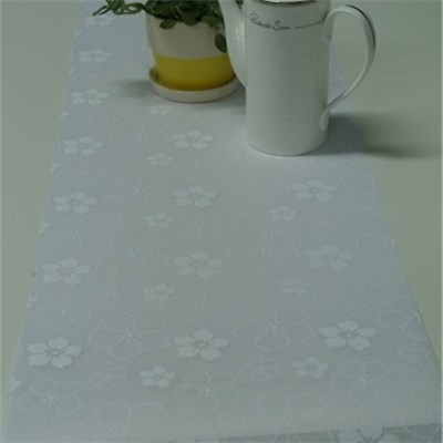 Flower Printed Table Runner