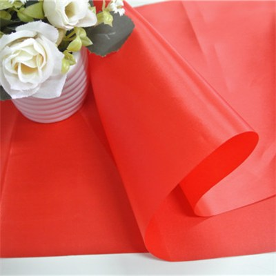 Stain Table Runner With Hot Cutting