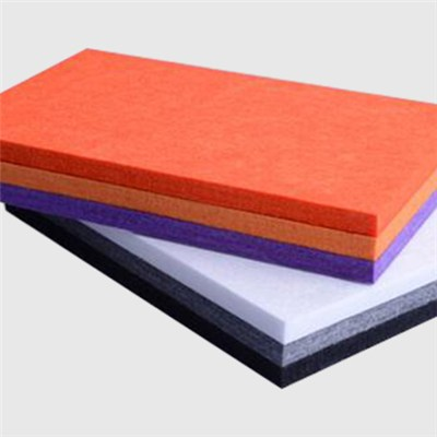 Wide Stripe Polyester Acoustic Panel
