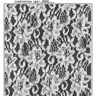 Chantilly 135cm Lace Fabric (R587)