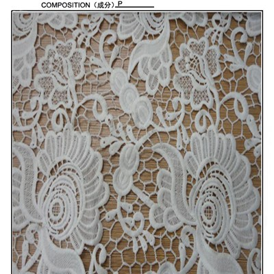 Water Soluble Lace Fabric ,factory Wholesales Lace Fabric (S8007)