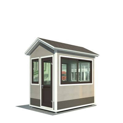 Luxury Detachable Security Kiosk