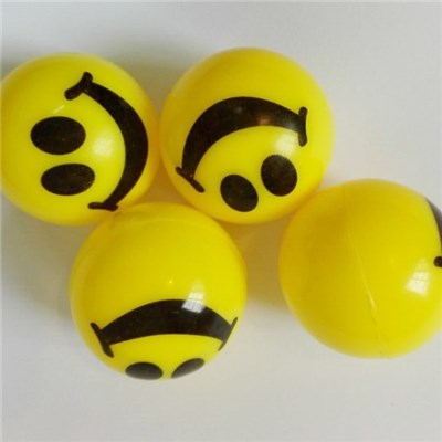 Smiling Bouncy Ball