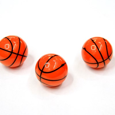 Bouncy Plastic Basketball