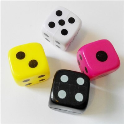 Plastic Fun Dice