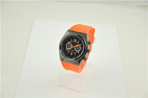 Men's Plastic Watch with Extra Pushers