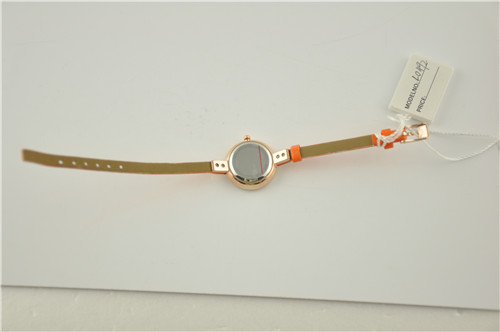 Two Tone Plastic Watch in Steel Bezel