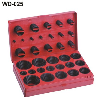 407PC INCH SIZES O-RING ASSORTMENT
