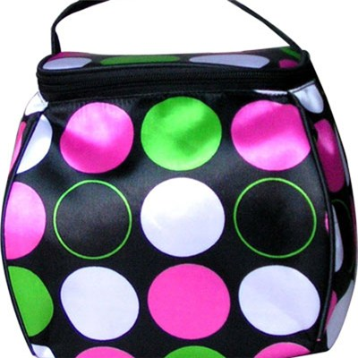 Satin With PVC Foam Backing Water Proof Cosmetic Bag