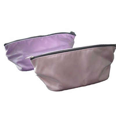 Satin Fabric +sponge +lining Elastic Wrinkled Cosmetic Bag