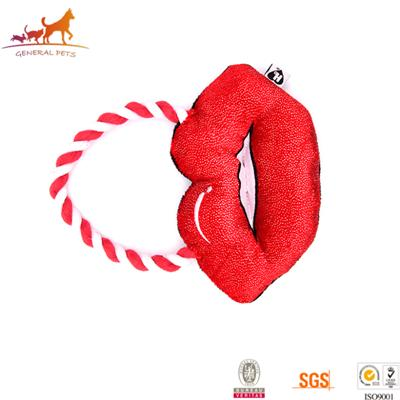 Lips Shape Puppy Chew Toys