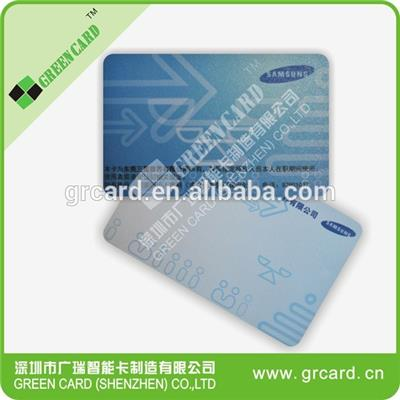 TK4100 ID card with printing