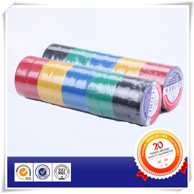 Glossy Rubber Based Adhesive PVC Tape In Colors