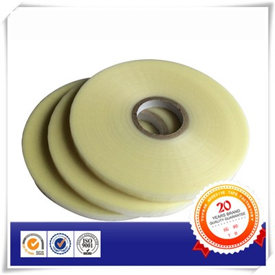 WHITE COLOR BOPP LINER Bag Sealing Tape