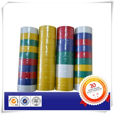 Matt Rubber Based Adhesive PVC Tape In Colors
