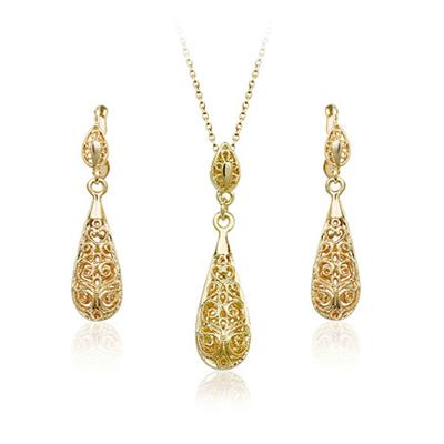 18k Gold Plated Jewelry Set